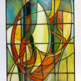 abstract-stained-glass-wall-hanging