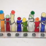 multicoloured-glass-hannukiah