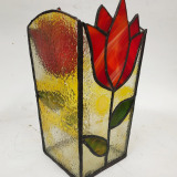 red-tulip-stained-glass-vase