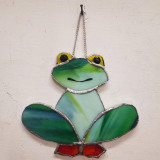 stained-glass-green-frog