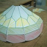 model-for-ceiling-stained-glass-lamp-red-yellow