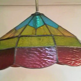 ceiling-stained-glass-lamp-red-yellow
