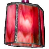 red-poligon-lamp