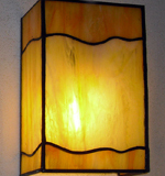 wall-lamp-orange-wave-glass