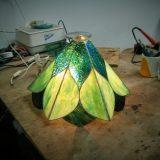 in-studio-glass-lamp-in-progress