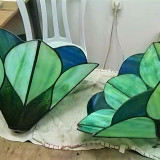 stained-glass-lamps-blue-green-in-progress