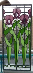 אומנות בזכוכית - חלון ויטראז עופרת, אירוסים