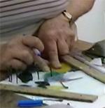 לומדים את טכניקת הטיפאני בסטודיו