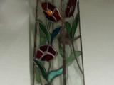 אגרטל ארוך עם פרחים - טיפאני