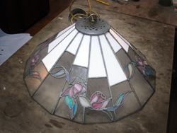 תיקון מנורת טיפאני