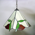 דוגמא של מנורה לסלון מתוך מבחר מנורות לסלון שעיצבתי, טיפאני מודרני