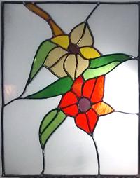 חלון מעוצב בויטראז עופרת