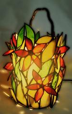 מנורת שולחן דקורטיבית טיפאני