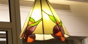 מנורת טיפאני לסלון או לפינת אוכל