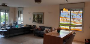 חלונות ויטראז עיצוב וביצוע אורלי בית שם
