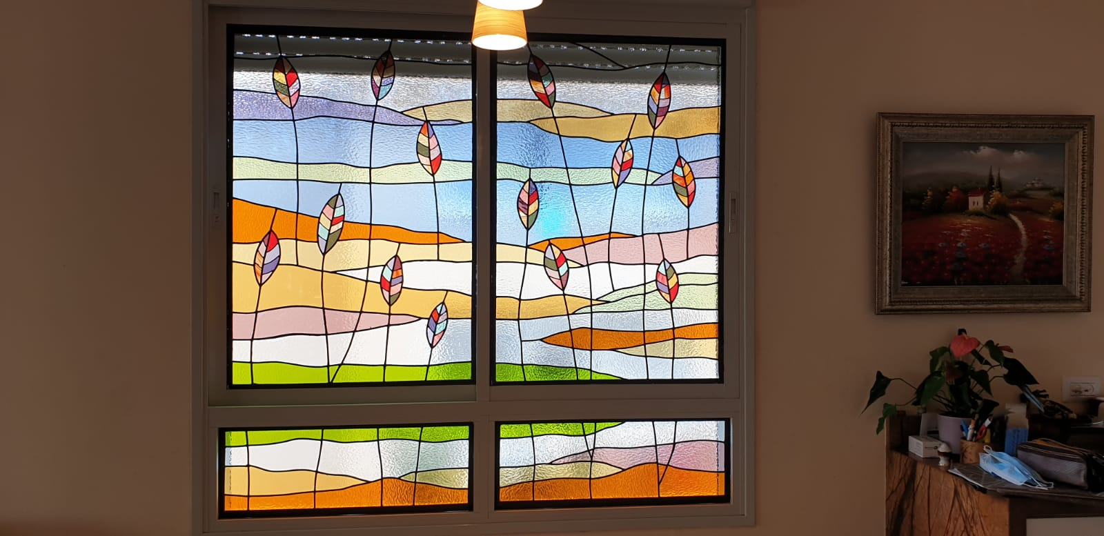 חלונות הויטראז המעוצבים