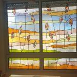 חלונות ויטראז סלון פינת אוכל בדירה 2020