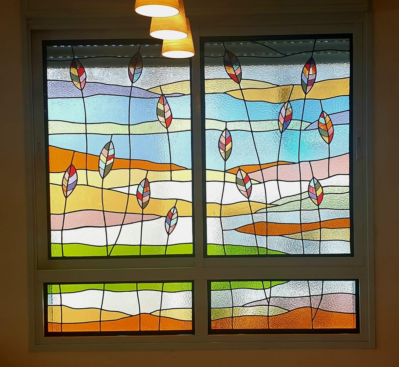 חלונות מעוצבים בויטראז ברחובות