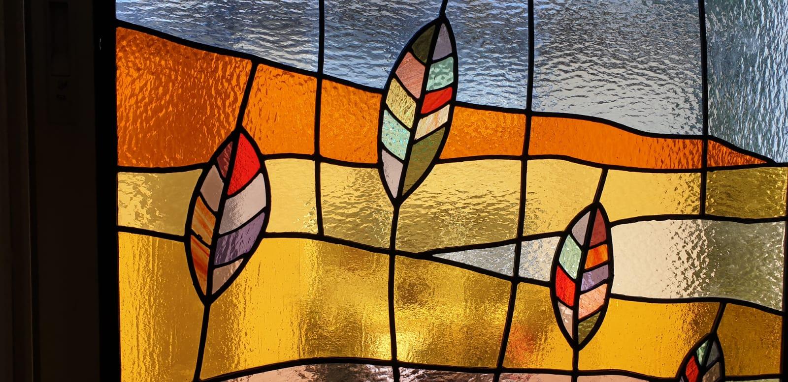 פרט מתוך חלונות מעוצבים בויטראז