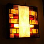 מנורת קיר מעוצבת מנורת ויטראז לתקרה מרובעים