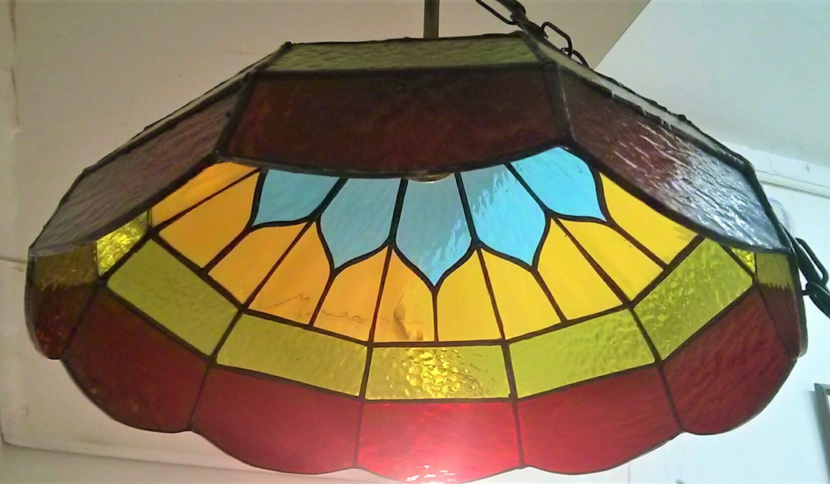 מנורת ויטראז לתלייה, מנורת טיפאני תלוייה פיצה צילי ירושלים