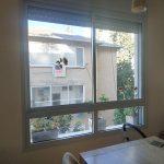 חלון הדירה לפני תוספת הויטראז