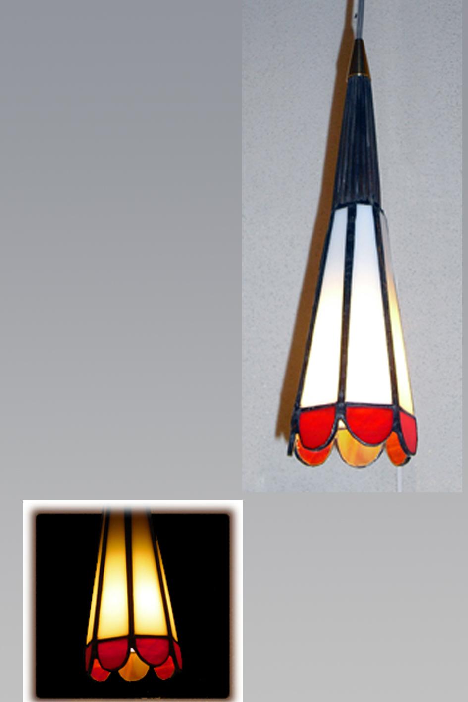 מנורת ויטראז לנישה, מנורת טיפאני כתר אדום